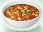 Peperonata with chicken